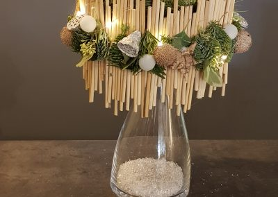 Foto's kerstworkshop kerstlamp 1