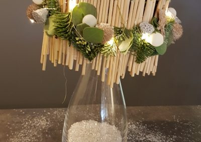 Foto's kerstworkshop kerstlamp 3